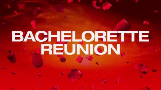 Bachelorette Reunion  (S15E00)